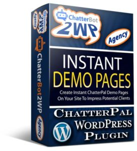 ChatterBot2WP Agency WordPress Plugin For ChatterPal Agencies