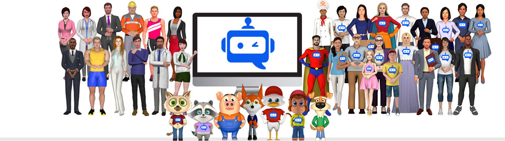 ChatterPal Agency 3D Avatars and chat bots